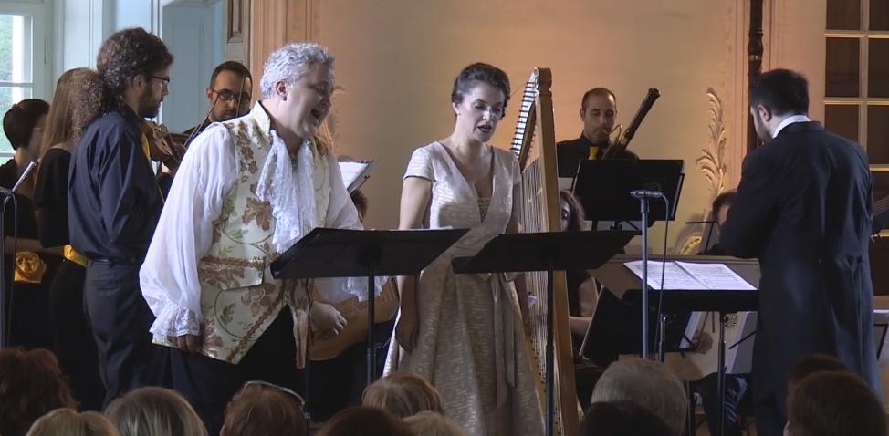 """Händel's """"Scherzano sul tuo volto"""" (Rinaldo HWV 7) Shimkus-Jegers-Frattima"""